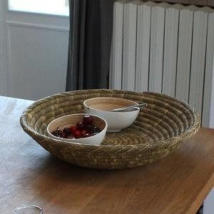 Flat Wicker Baskets