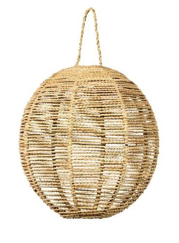 Suspension  BOULE en Corde de Palmier M