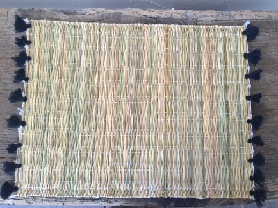 Set de table en osier fait main marrakech id es for Set de table en osier